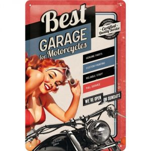 Cartello 20x30  Best Garage