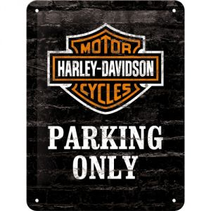 Cartello 15x20 HARLEY PARKING