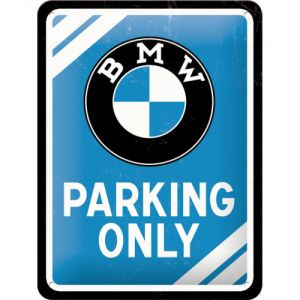 Cartello 15x20 BMW PARKING