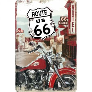 Cartello 20x30 Route 66