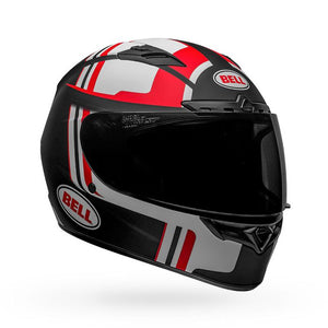 Bell Qualifier DLX Mips Solid Helmet: Black/Red