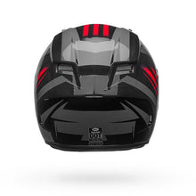 Bell Qualifier Solid Helmet:  Black/Red/Titanium