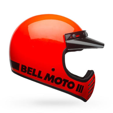 Bell Moto-3 Gloss Orange