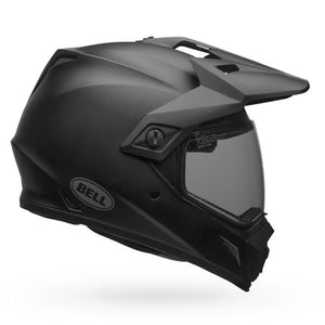 Bell MX-9 Adventure Mips Solid Helmet: Matte Black