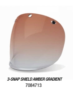3-SNAP SHIELD AMBER GRADIENT