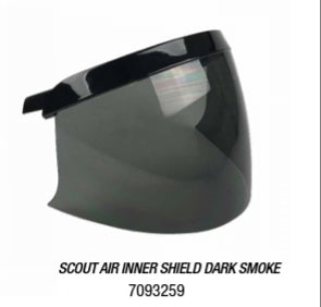 SCOUT AIR INNER SHIELD DARK SMOKE