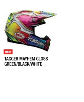 TAGGER MAYEM GLOSS GREEN/BLACK/WHITE