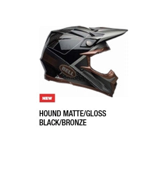 HOUND MATTE/GLOSS/BLACK/BRONZE