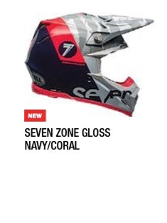 SEVEN ZONE GLOSS NAVY/CORAL