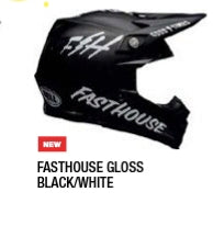 FASTHOUSE GLOSS BLACK/WHITE