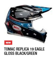 TOMAC REPLICA19 EAGLE GLOSS BLACK/GREEN