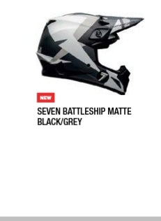 SEVEN BATTLESHIP MATTE BLACK/GREY