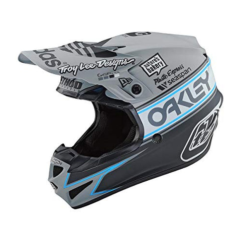 CASCO MOTO TLD SE4 POLYACRYLITE TEAM EDITION 2 IN POLICARBONATO CON CALOTTA ESTERNA IN EPS