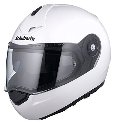 Schuberth C3 Pro Gloss White Motorcycle Helmet