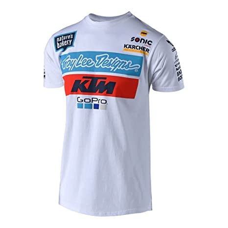 KTM Team T-shirt BY Troy Lee Designs
