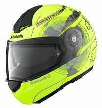 Schuberth C3 Pro Europe Yellow Motorcycle Helmet