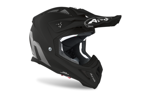 Casco Airoh Aviator - Color White or Black