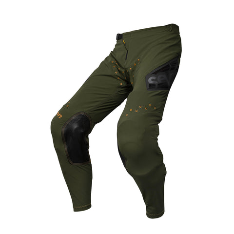 YOUTH ZERO VICTORY PANT OLIVE / ORANGE