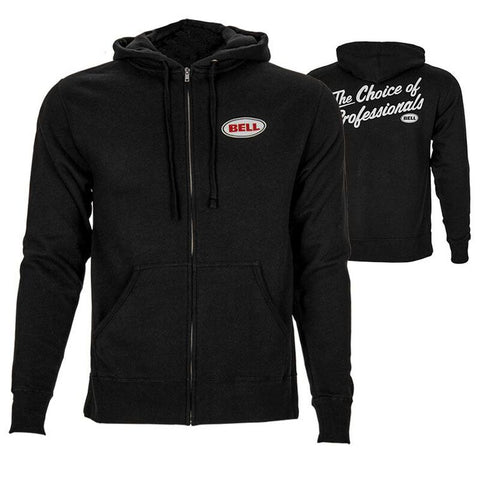 FELPA BELL CHOICE OF PROS ZIP HOODIE BLACK