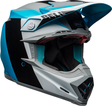 Moto-9 Flex Division Matte/Gloss/White/Black/Blue