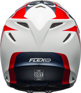 Moto-9 Flex Division Matte/Gloss/White/Blue/Red