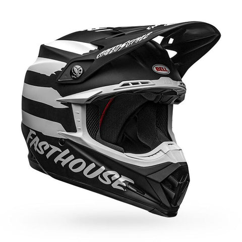 casco Bell Fastouse Signia MATTE BLACK/WHITE