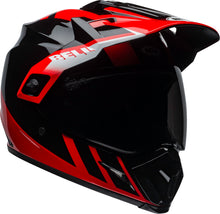 Bell MX-9 Adventure Mips DASH GLOSS BLACK/ RED/WHITE