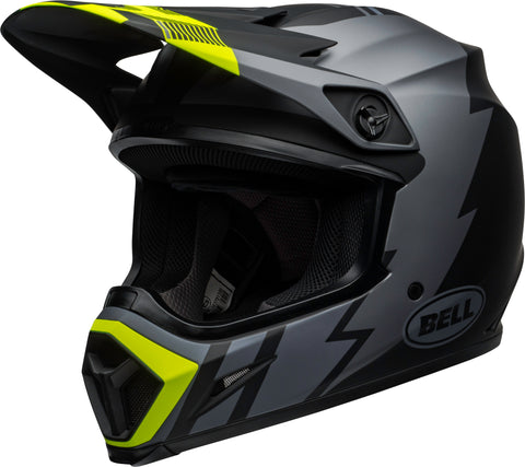 MX-9 STRIKE MATTE GRAY/BLACK/HI-VIZ