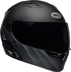Bell Qualifier Solid Helmet: INTEGRITY MATTE CAMO BLACK/GREY