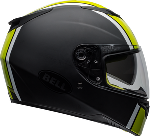 Bell RS-2  RALLY MATTE/GLOSS BLACK/WHITE/HI-VIZ