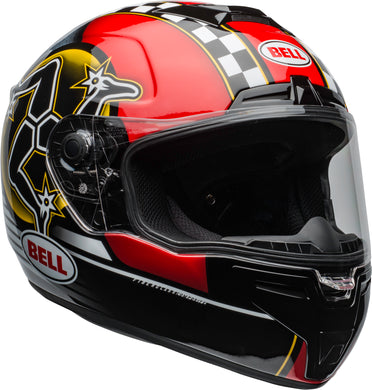 Bell SRT  ISLE OF MAN 2020 GLOSS BLACK/RED