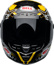 Bell STAR DLX MIPS - ISLE OF MAN GLOSS BLACK/YELLOW