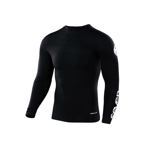 SEVEN YOUTH ZERO COMPRESSION JERSEY BLACK