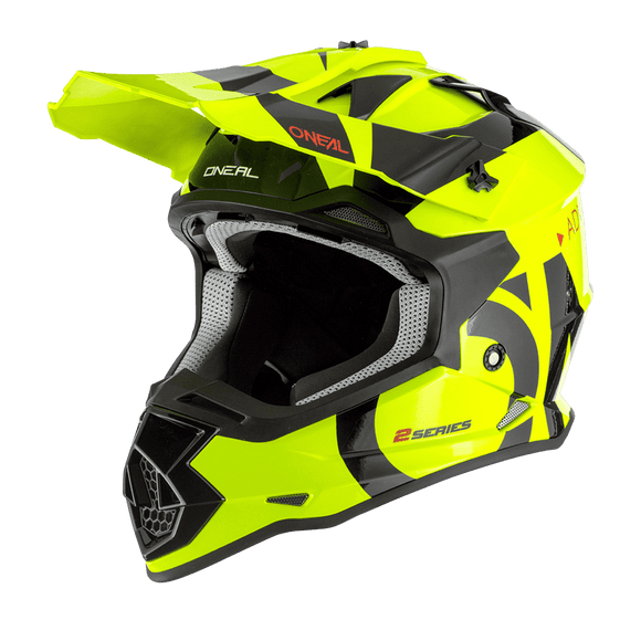 Casco 2 Series Slick Niños Amarillo