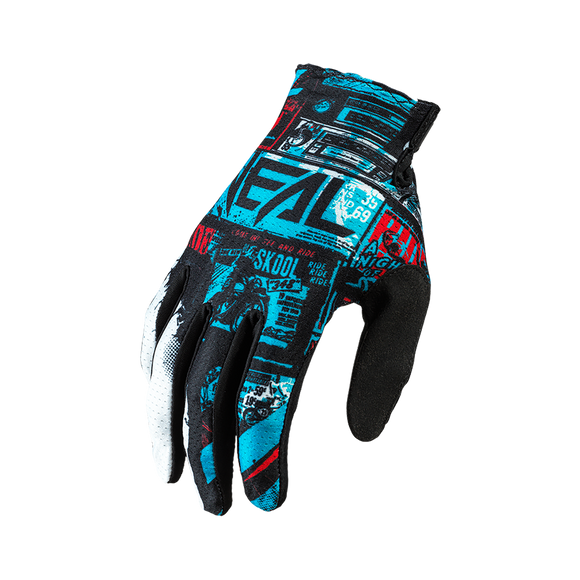 Guantes Matrix Ride Azul