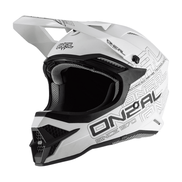 Casco 3 Series Flat Solid Blanco