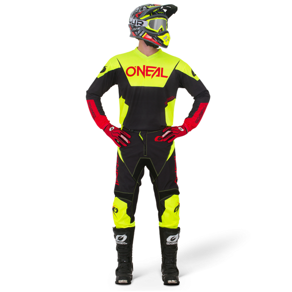 Kit Jersey y Pantalón Element Racewear Neon