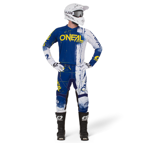 Kit Jersey y Pantalón Element Shred Blue