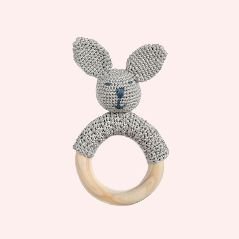 Bunny Ring Teether