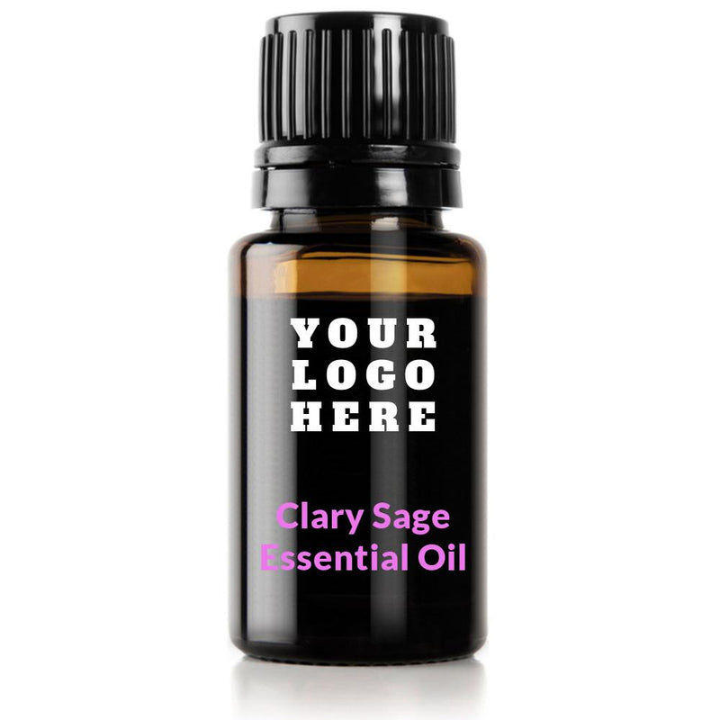 Clary Sage Essential Oil (Salvia Sclarea ) - Private Label - Medidermlab