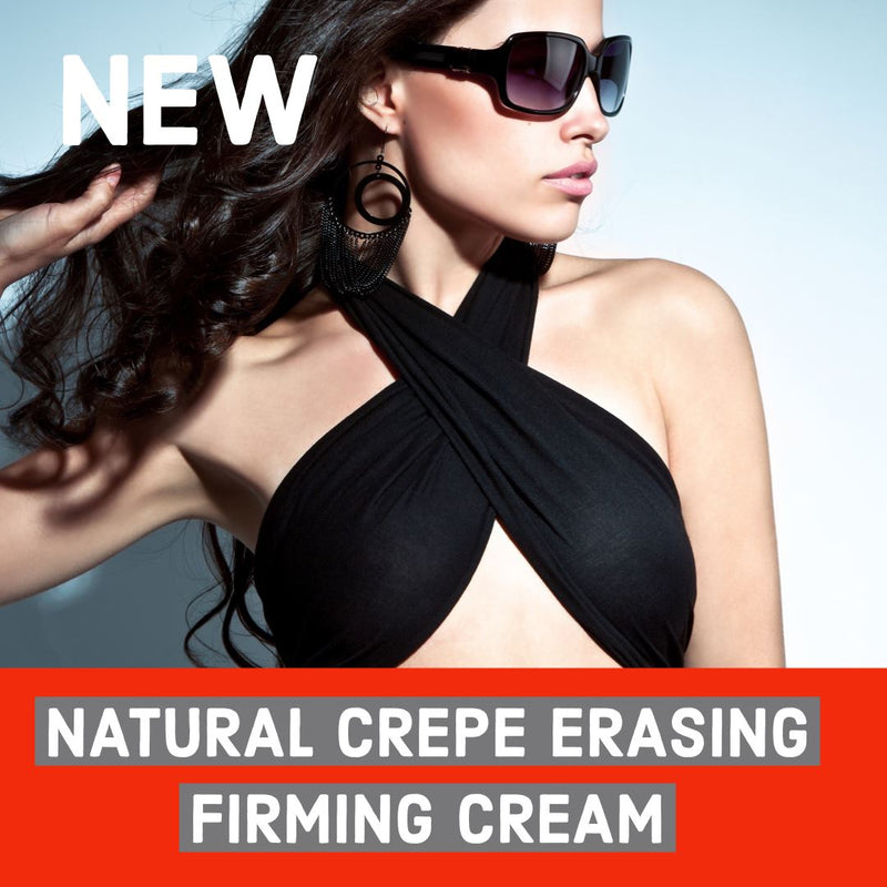 Natural Crepe Erasing Firming Cream- Neck- Face- Chest- As Seen On TV