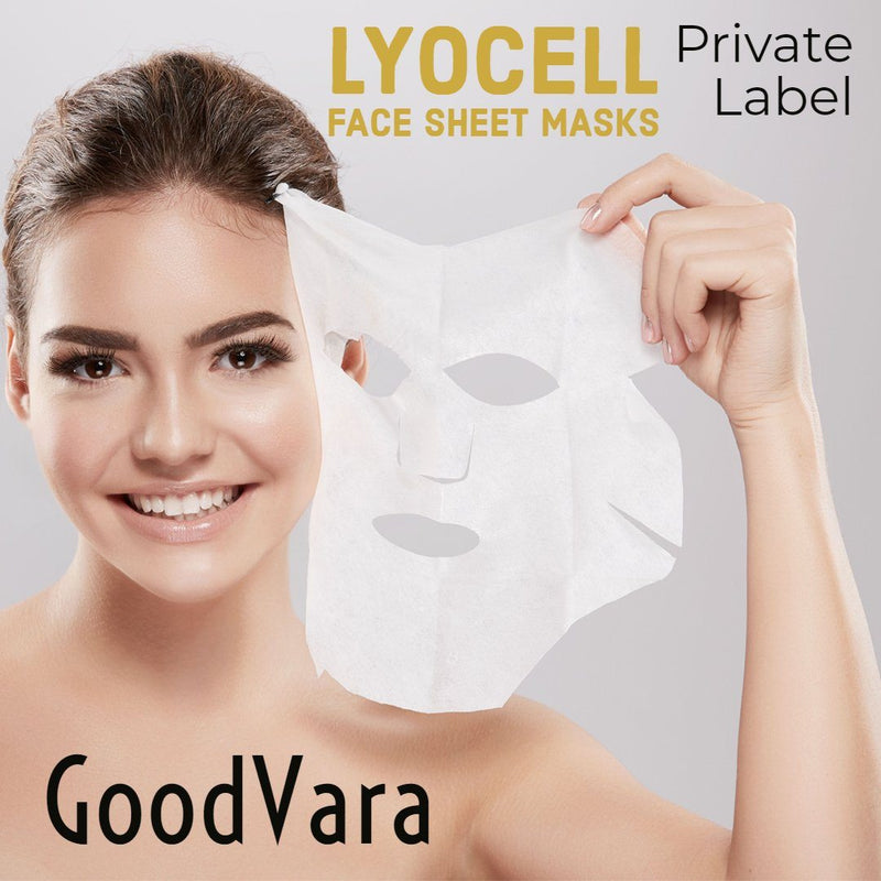 GoodVara Lyocell Face Sheet Masks