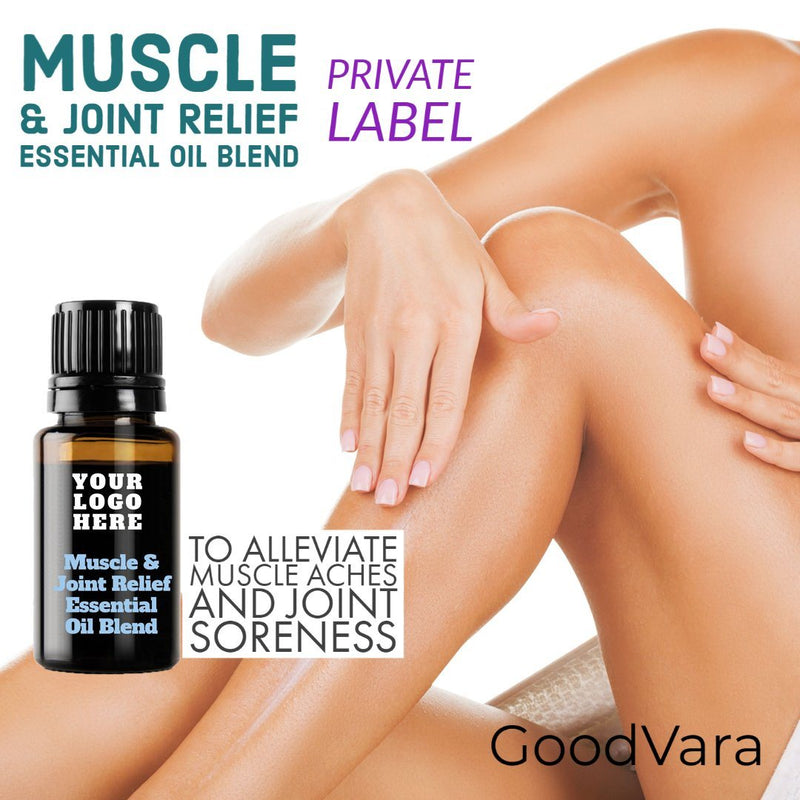 GoodVara Muscle & Joint Relief Essential Oil Blend