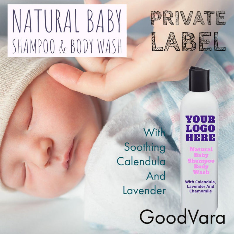 GoodVara Natural Baby Shampoo & Body Wash