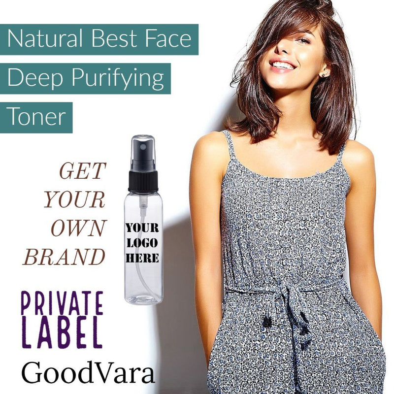 GoodVara Natural Best Face Deep Purifying Toner- Private Label