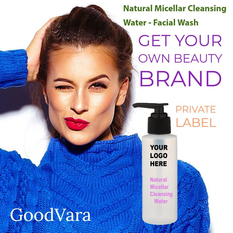 GoodVara Natural Micellar Cleansing Water - Facial Wash