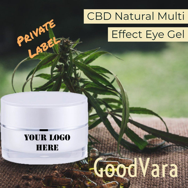 GoodVara CBD Natural Multi Effect Eye Gel