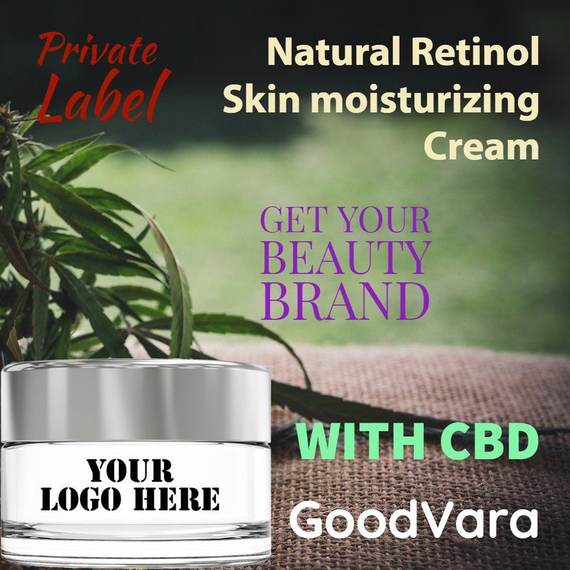 GoodVara Natural Retinol Skin moisturizing Cream With CBD