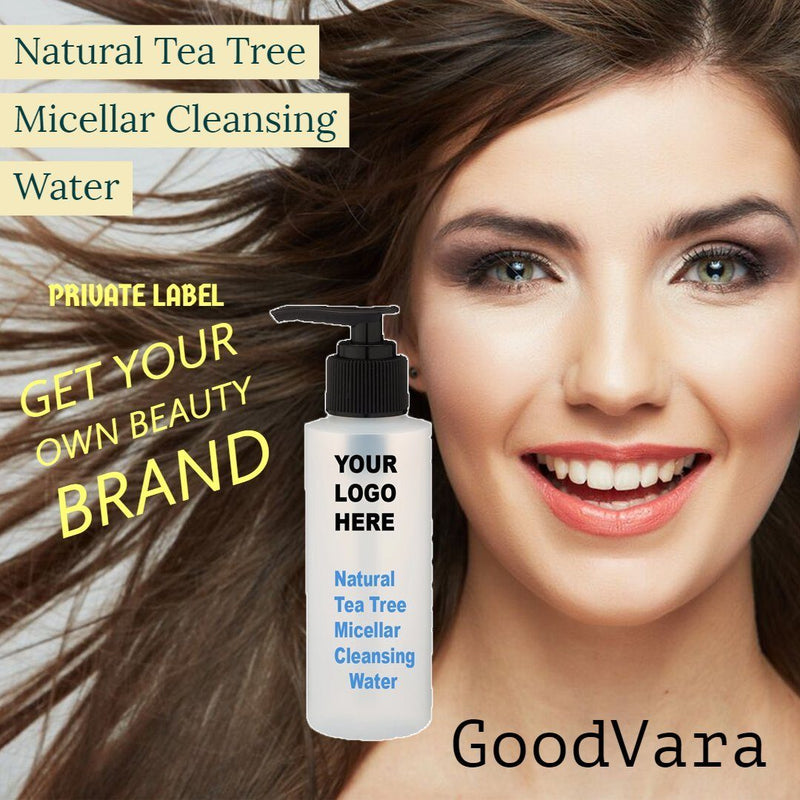 GoodVara Natural Tea Tree Micellar Cleansing Water