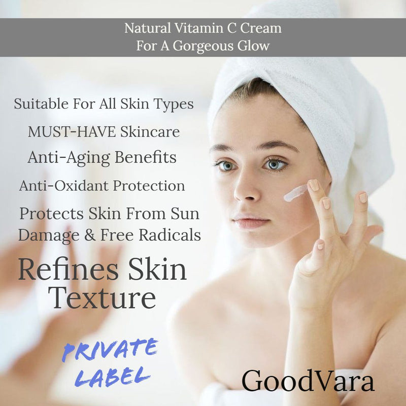 GoodVara Natural Vitamin C Cream